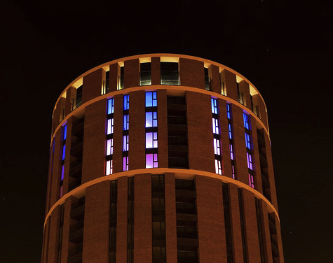 Candle House | 20 Storey Light Installation